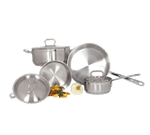 Admiral Craft SXS-7PC Deluxe 7-Piece Cookware Set