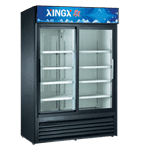 Admiral Craft USRFS-2D/B U-STAR Refrigerator Merchandiser
