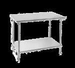 Advance Tabco AG-3010 Work Table