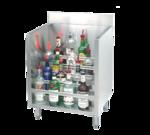 "Advance Tabco CRLR-12 Underbar Basics"" Liquor Bottle Display Unit"