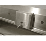 Advance Tabco K-13WMS Factory install K-13 to backsplash of sink