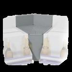 Advance Tabco PRF-25-45IC Prestige corner filler