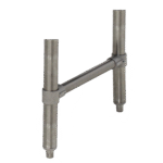 "Advance Tabco SU-10A Upgrade underbar legs to 18"""" stainless steel legs"