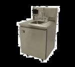 """Advance Tabco TA-MSC-1 Rear riser panel for 26"""" wide mobile sinks"""