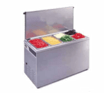 APW Wyott CTCW-43 Refrigerated Countertop Pan Well