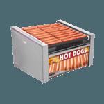 APW Wyott HRS-50SBW X*PERT HotRod® Hot Dog Grill with Bun Warmer