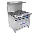 Bakers Pride Bakers Pride 36-BP-4B-G12-S30 Restaurant Series Range