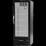 Beverage Air MMF12HC-1-B 24.13'' 11.9 cu. ft. 1 Section Black Glass Door Merchandiser Freezer
