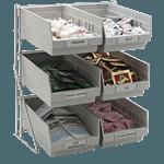Carlisle 381206LG Condiment Packet Rack