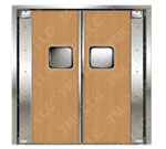 Curtron Products SPD-20-L-DBL-4896 Service-Pro® Series 20 Double Swinging Door