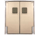 Curtron Products SPD-60-DBL-8496 Service-Pro® Series 60 Double Swinging Door