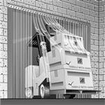 Curtron Products UM-AL Save-T Strip Door Hardware
