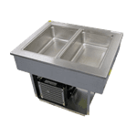 "Delfield Delfield 8186-EF LiquiTec"" Drop-In Cool Food Unit"