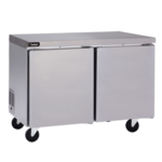 Delfield GUR27P-S 27'' 1 Section Undercounter Refrigerator with 1 Right Hinged Solid Door and Side / Rear Breathing Compressor