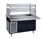 Delfield KCSC-50-B Shelleyglas® Cold Food Serving Counter