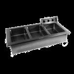 Delfield N8768N Narrow Drop-In Hot Food Well Unit