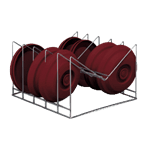 Dinex DX1173XC10 TMP® Individual Drying Cradle Insert