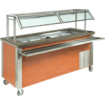 Dinex DXDCF4 DineXpress™ Cold Food Unit Counter