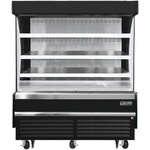Everest Refrigeration EOMV-60-B-28-S 60.00'' Air Curtain Open Display Merchandiser with