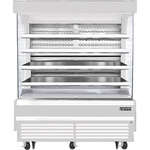 Everest Refrigeration EOMV-72-W-35-T 73.25'' Air Curtain Open Display Merchandiser with