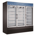 Falcon AGM-78 78.25'' Section Refrigerated Glass Door Merchandiser