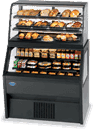 Federal Industries Federal Industries 2CD3628/RSS6SC Specialty Display Hybrid Merchandiser Refrigerated Self-Serve Bottom With Non-Refrigerated Service Top