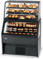 Federal Industries 2CD3628SS/RSS6SC Specialty Display Hybrid Merchandiser Refrigerated Self-Serve Bottom With Non-Refrigerated Self-Serve Top
