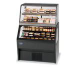 Federal Industries 2CH3628SS/RSS6SC Specialty Display Hybrid Merchandiser Refrigerated Self-Serve Bottom With Hot Self-Serve Top