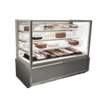 Federal Industries ITR3626-B18 Italian Glass Refrigerated Display Case