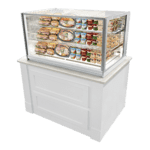 Federal Industries ITR3626 Italian Glass Refrigerated Counter Display Case