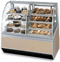 Federal Industries Federal Industries SN77-3SC Series 90 Dual Bakery Case Refrigerated Left Non-Refrigerated Right
