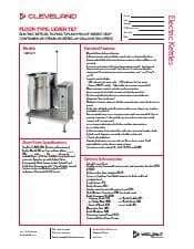 Cleveland Range KET20T.SpecSheet.pdf