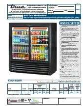 True Manufacturing Co., Inc. GDM-41SL-54-HC-LD.SpecSheet.pdf