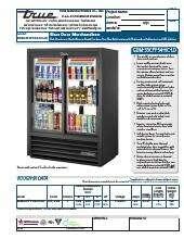 True Manufacturing Co., Inc. GDM-33CPT-54-HC-LD.SpecSheet.pdf