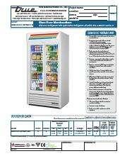 True Manufacturing Co., Inc. GDM-33-HC~WTRM01 WHT.SpecSheet.pdf