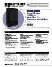 master-bilt-products-mbrgm73hw.SpecSheet.pdf