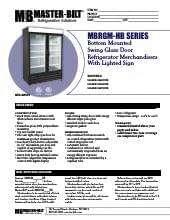 master-bilt-products-mbrgm23hb.SpecSheet.pdf