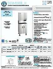 hoshizaki-dcm-500bah.SpecSheet.pdf