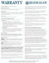 Bev-Air Warranty Update 10-1-18.pdf