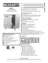 Blodgett Steam SBF-3E.SpecSheet.pdf