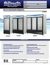 Blue Air Commercial Refrigeration BKGM23.SpecSheet.pdf