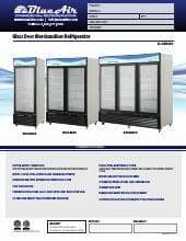 Blue Air Commercial Refrigeration BKGM72.SpecSheet.pdf