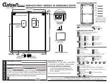 Curtron Products SPD-30-L-DBL-5484.SpecSheet.pdf