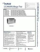 Delfield UC4464N-12M.SpecSheet.pdf