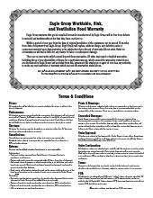 spec air® warranty.pdf
