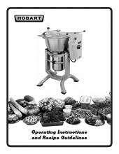 Hobart hcm62 1 food processor kitchen equipment ckitchen hob1042pdf recipe guidelinespdf forumfinder Gallery