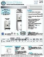 Hoshizaki DCM-270BAH.SpecSheet.pdf