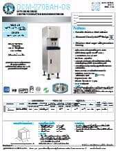 Hoshizaki DCM-270BAH-OS.SpecSheet.pdf