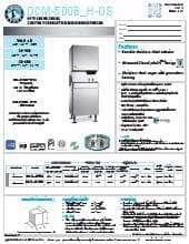 Hoshizaki DCM-500BWH-OS.SpecSheet.pdf
