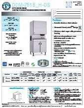 Hoshizaki DCM-751BWH-OS.SpecSheet.pdf